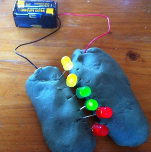 Squishy Circuits Electric Playdough